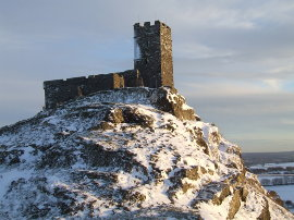 Brentor church on Dartmoor - the highest working church in England. Click for our Sunday link!